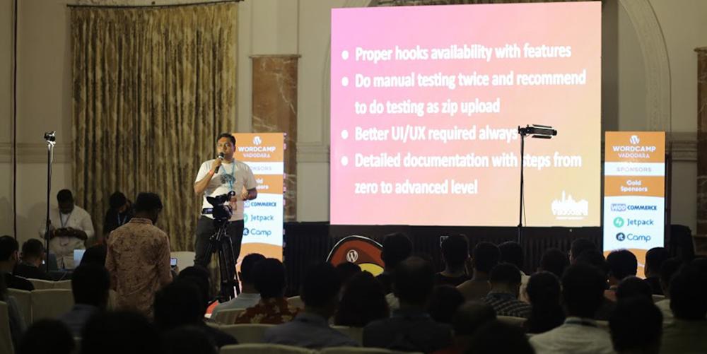 Alkesh Miyani International Speaker Experience at WordCamp Vadodara